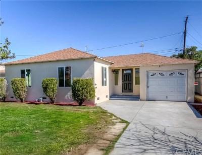 Baldwin Park Single Family Home For Sale: 4308 Alta Lake Avenue