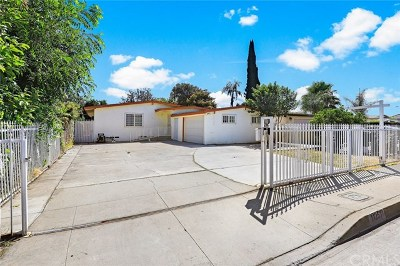 El Monte Single Family Home For Sale: 11251 Fineview Street