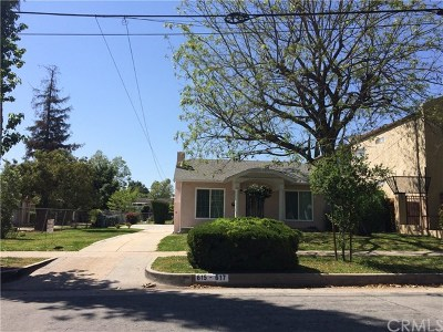 Pasadena Multi Family Home For Sale: 615 N Mentor Avenue