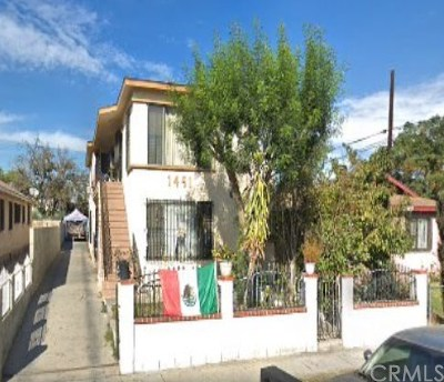 Los Angeles Multi Family Home For Sale: 1451 E 53rd Street