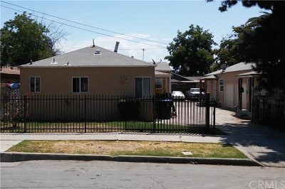 San Bernardino CA Multi Family Home For Sale: $349,000