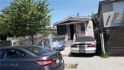 Los Angeles Single Family Home For Sale: 2417 113th Street E