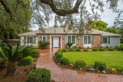 San Marino Single Family Home For Sale: 690 San Marino Avenue