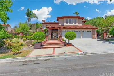 West Covina Single Family Home For Sale: 1040 Highlight Drive