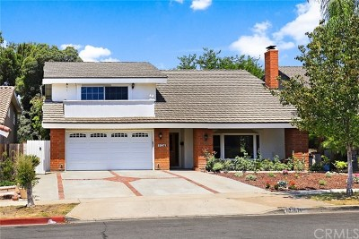 Lake Forest Single Family Home For Sale: 22871 Loumont Drive