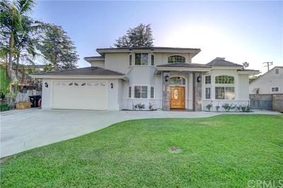 Arcadia CA Single Family Home For Sale: $1,700,000