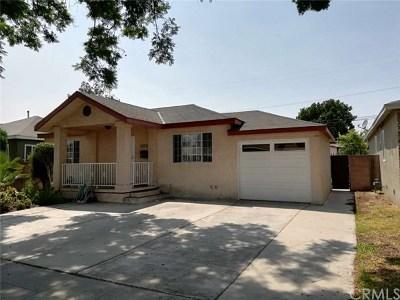 Single Family Home For Sale: 15109 Maidstone Avenue