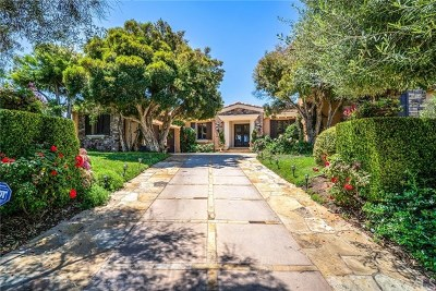 Rancho Palos Verdes Single Family Home For Sale: 53 Paseo Del La Luz