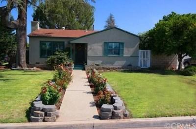 West Covina Single Family Home For Sale: 1205 E Mobeck Street