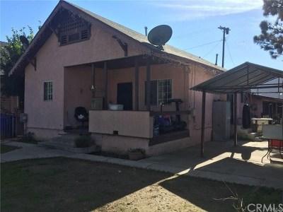 Pomona Multi Family Home For Sale: 856 W 4th Street