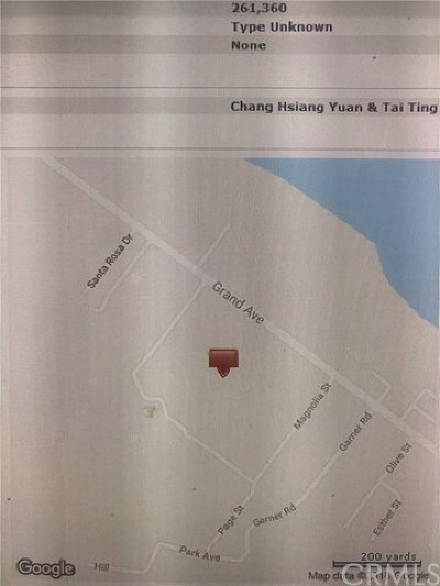 Lake Elsinore Residential Lots & Land For Sale: Grand Avenue