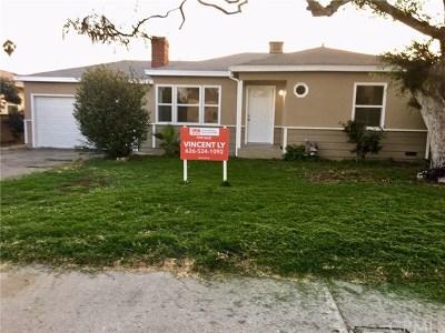 El Monte Single Family Home For Sale: 3123 Friendswood Avenue