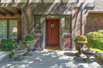 San Marino Single Family Home For Sale: 1272 Roanoke Road