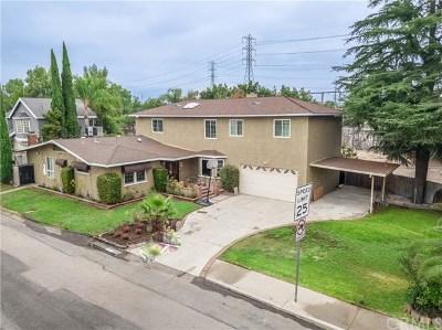 San Gabriel Single Family Home For Sale: 8601 Duarte Road