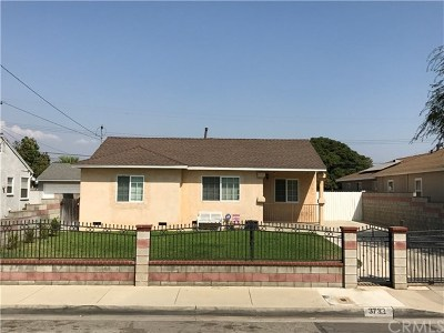Baldwin Park Single Family Home For Sale: 3732 Kenmore Avenue