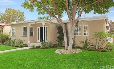 San Gabriel Single Family Home For Sale: 210 Milton Drive