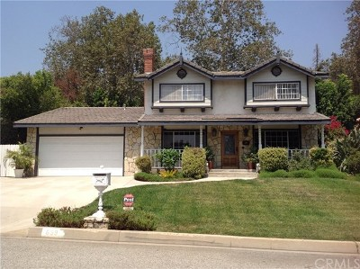 Sierra Madre Single Family Home For Sale: 699 Gatewood Lane