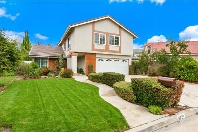 Fullerton Single Family Home For Sale: 2725 Wyckersham Place