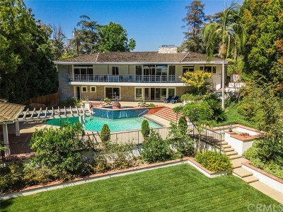 San Marino Single Family Home For Sale: 2463 Ridgeway Road