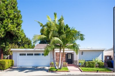 Tustin Single Family Home Active Under Contract: 14282 Kipling Lane