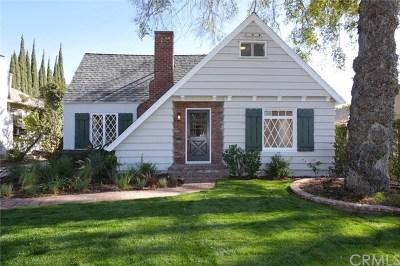Pasadena Single Family Home For Sale: 1626 N Grand Oaks Avenue