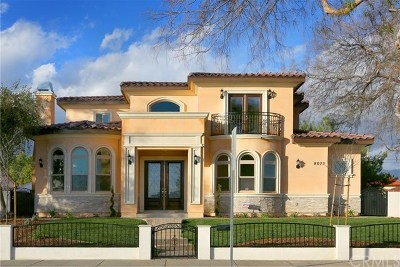 Temple City Single Family Home For Sale: 9073 Hermosa Drive