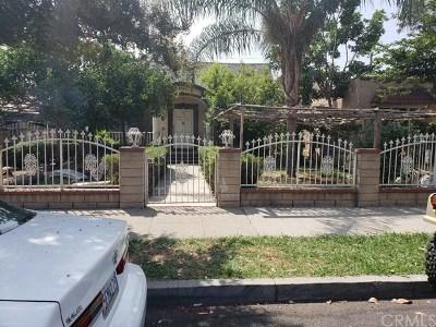 El Monte Single Family Home For Sale: 11110 Oak Street