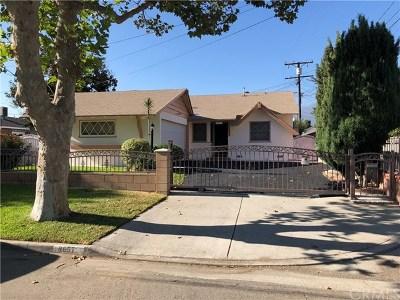 Temple City Single Family Home For Sale: 9657 Workman Avenue