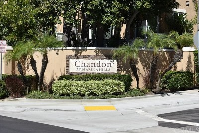 Laguna Niguel Condo/Townhouse For Sale: 105 Chandon