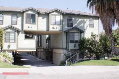 Monrovia Condo/Townhouse For Sale: 1340 S Mayflower Avenue #D