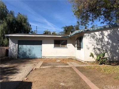 La Puente Single Family Home For Sale: 1263 Foxworth Avenue