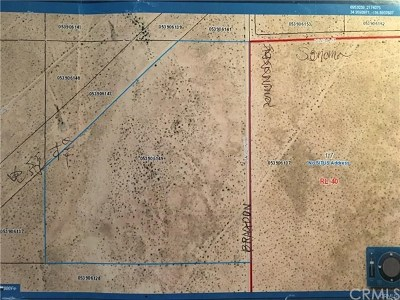 Newberry Springs Residential Lots & Land For Sale: Bragdon Road