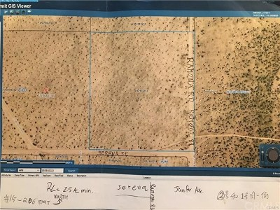 Newberry Springs Residential Lots & Land For Sale: Jennifer
