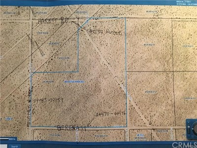 Newberry Springs Residential Lots & Land For Sale: Mountain View Road