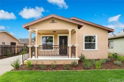 San Gabriel Single Family Home For Sale: 1005 Montecito Drive