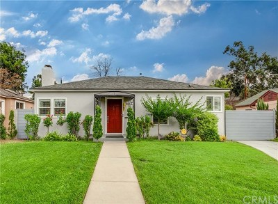 Pasadena Single Family Home For Sale: 2825 Mataro Street