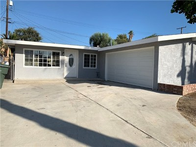 La Habra Single Family Home For Sale: 570 Clifton Street