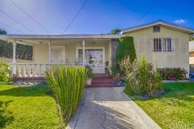 Los Angeles Single Family Home For Sale: 1432 E 78th