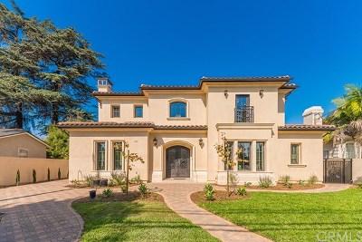 Arcadia Single Family Home For Sale: 315 E Camino Real Avenue