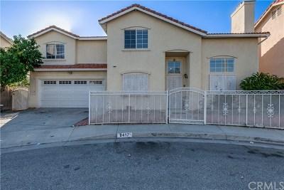 South El Monte Single Family Home For Sale: 2417 Havenpark Avenue