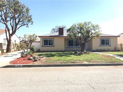 West Covina CA Single Family Home For Sale: $629,000