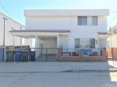 San Pedro Multi Family Home For Sale: 451 W Elberon Avenue