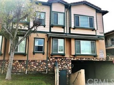 Arcadia Condo/Townhouse For Sale: 1126 W Duarte Road #H