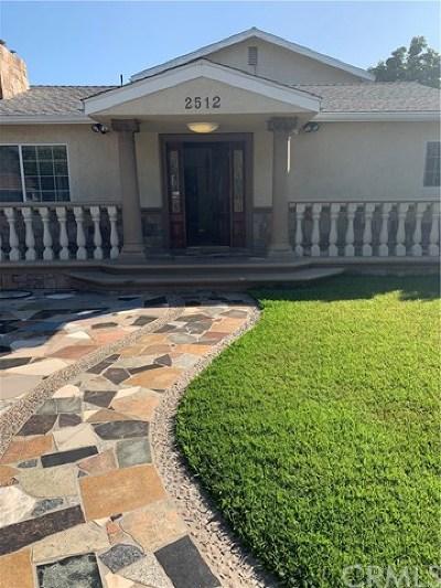 South El Monte Single Family Home For Sale: 2512 Central Avenue