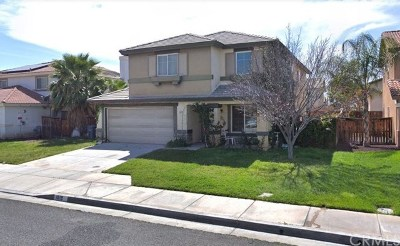 Hemet Single Family Home For Sale: 1619 Whiterock Lane