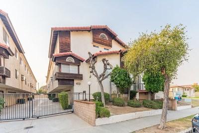 Monterey Park Condo/Townhouse For Sale: 413 N Ynez Avenue #D
