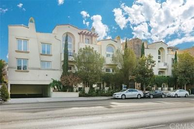 Sherman Oaks Condo/Townhouse For Sale: 15206 Burbank Boulevard #117