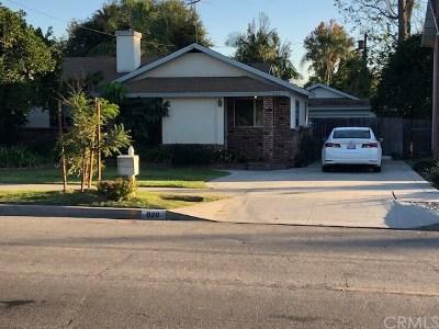 Arcadia Single Family Home For Sale: 926 E Camino Real Avenue