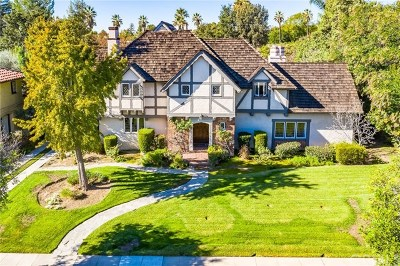 San Marino Single Family Home For Sale: 2305 Ridgeway