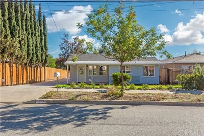 San Dimas Single Family Home Active Under Contract: 510 W 5th Street